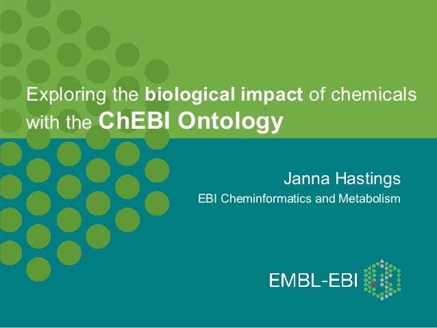 Using ChEBI to explore the underlying biology in metabolomics studies