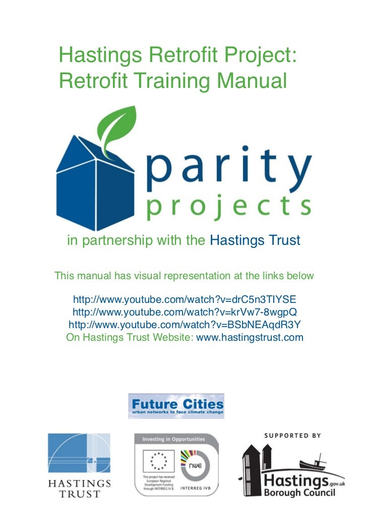 in partnership with the Hastings TrustThis manual has visual representation at the links below   http://www.youtube.com/wa...