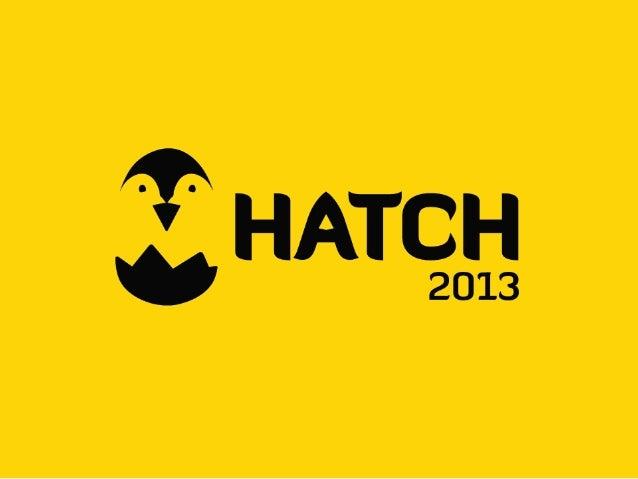 HATCH! FAIR - HATCH! PROGRAM Introduction - For All Brave Start-ups