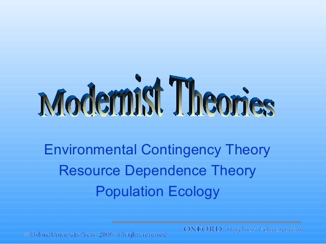 comparison of structural contingency theory and resource dependence theory Dependency and a theory of imperialism the marxist theory of imperialism explains dominant state expansion while the dependency theory explains underdevelopment stated another way, marxist theories explain the reasons why imperialism occurs, while dependency theories explain the consequences of imperialism the difference is.