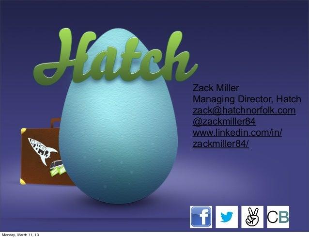 Hatch: Mentor Based Accelerator