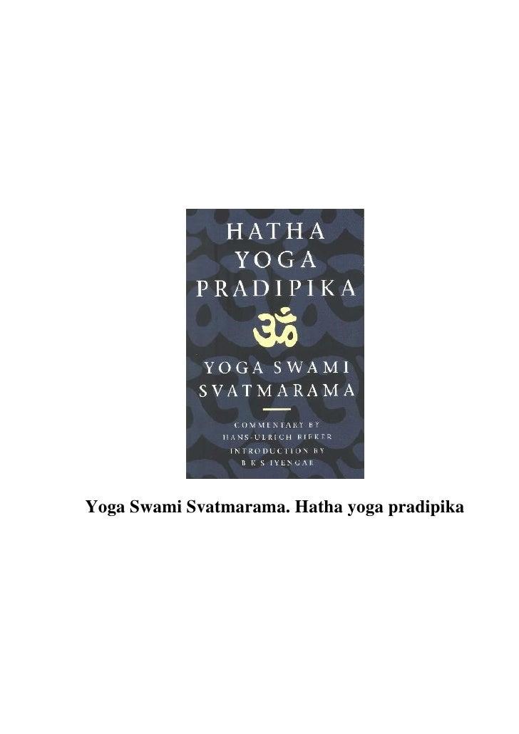 Hatha yoga pradipika   102pgs