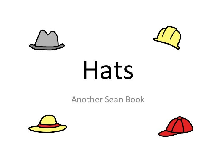 Hats Another Sean Book