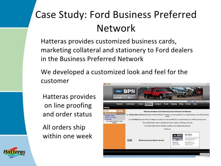 Case Study Ford Business