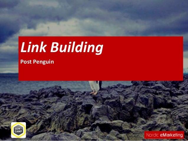 Link BuildingPost Penguin