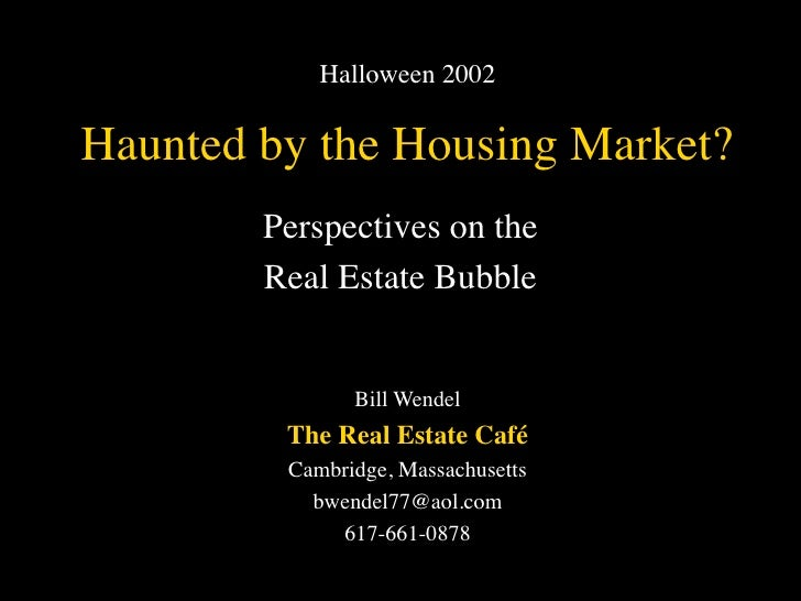 Haunted by the Housing Market (2000 vs 2002)