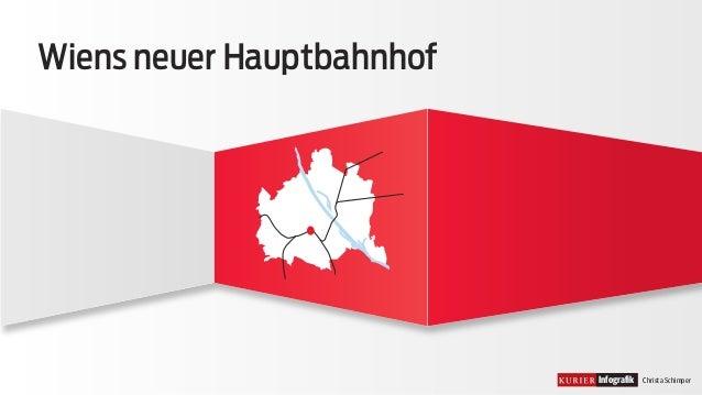 Infografik Christa Schimper  Wiens neuer Hauptbahnhof