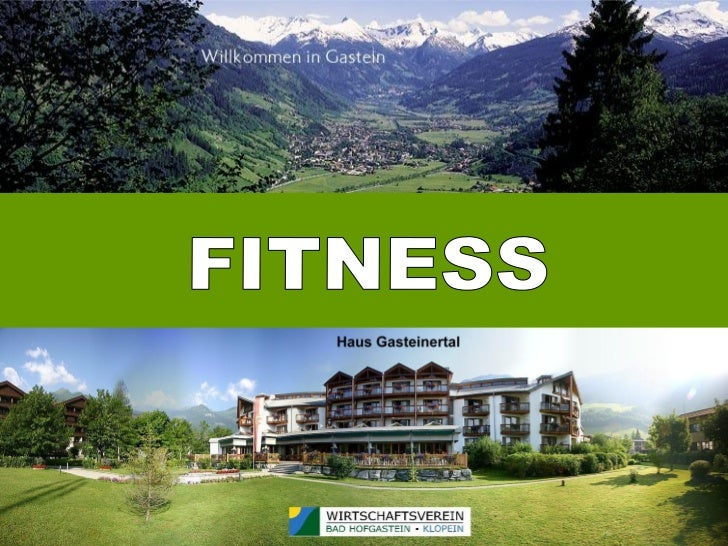 Haus gasteinertal-fitness
