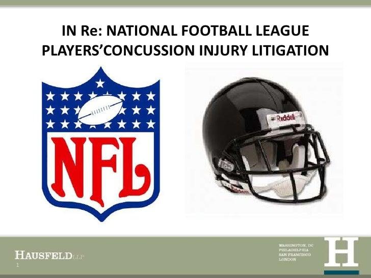 Hausfeld LLP NFL presentation on concussion litigation