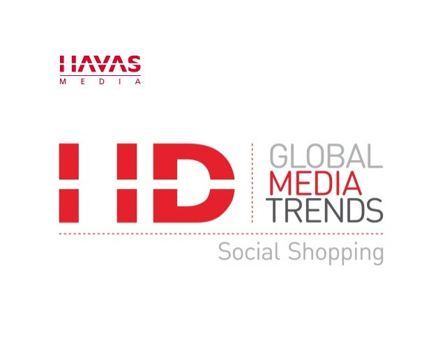 Global Media Trends: Social Shopping