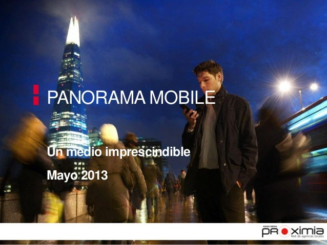 Panorama mobile datos mayo 2013