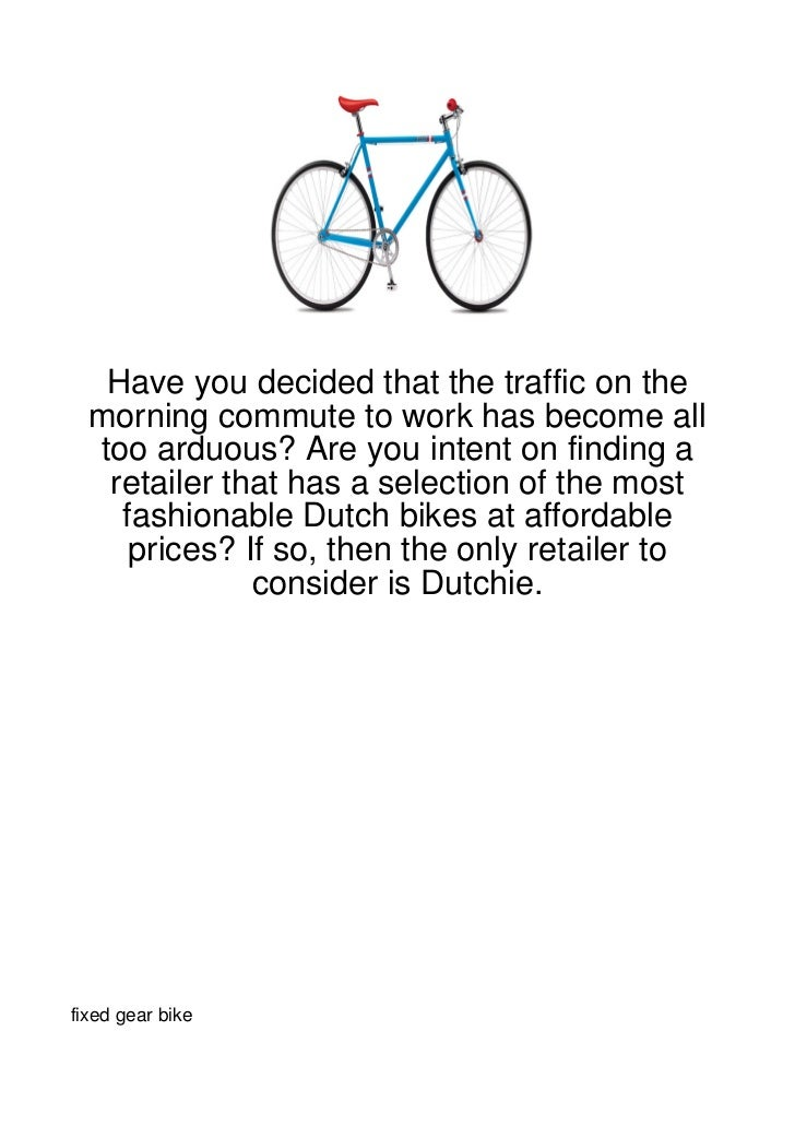 Have you decided that the traffic on the  morning commute to work has become all  too arduous? Are you intent on finding a...
