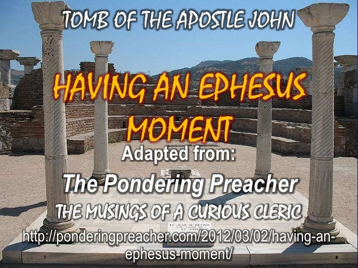 Adapted from:      The Pondering Preacher     THE MUSINGS OF A CURIOUS CLERIChttp://ponderingpreacher.com/2012/03/02/havin...
