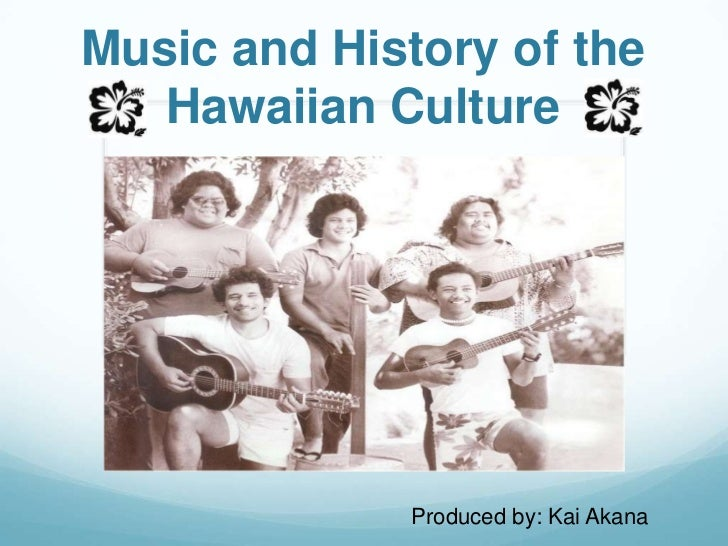 Music and History of the Hawaiian Culture<br />Produced by: Kai Akana<br />