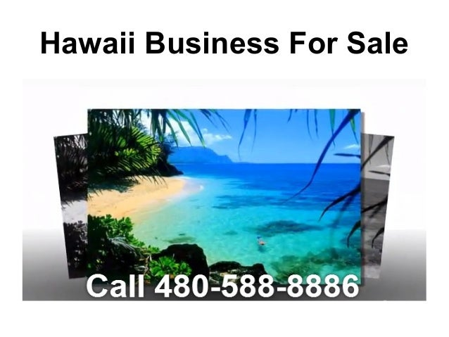 Hawaii Business For Sale