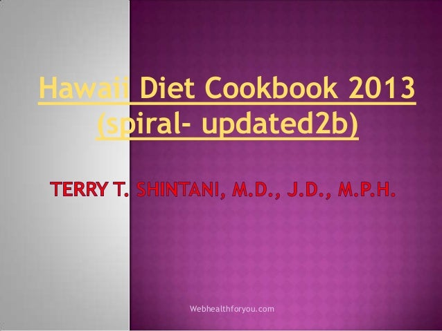 Hawaii diet cookbook 2013 (spiral updated2b)25