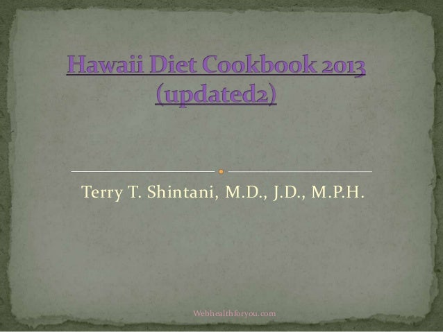 Hawaii diet cookbook 2013 (updated2)13