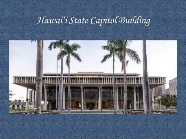 Hawaii State Capitol Tour