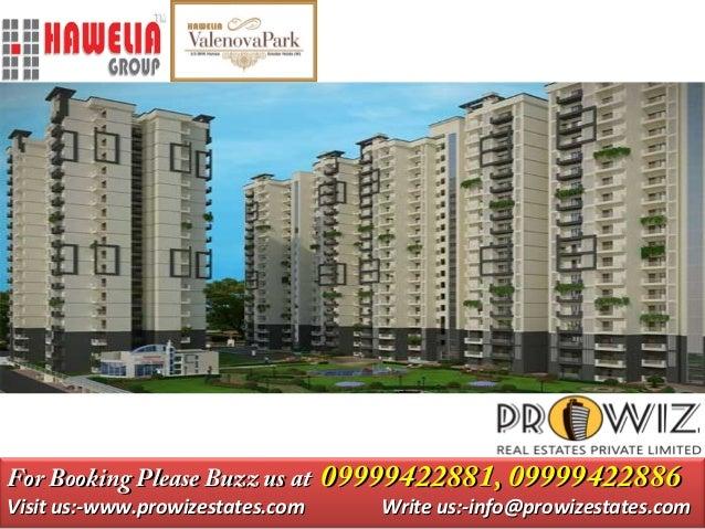 Hawelia Valenova Park Noida Extension 2&3 BHK Stylish Homes