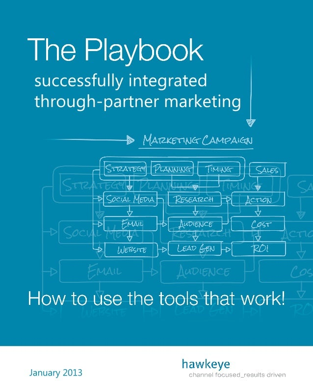 The Playbook: Successfully Integrated Through-Partner Marketing