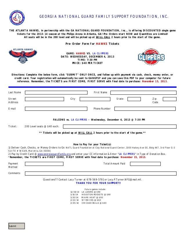 Hawks vs LA Clippers Dec 4th!