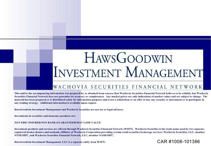 HawsGoodwin Investment Process
