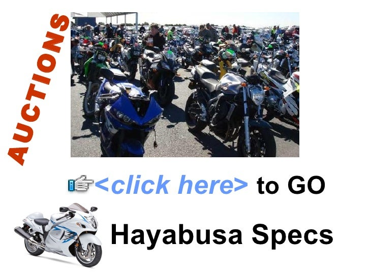 S  ION CT AU              <click here> to GO           Hayabusa Specs