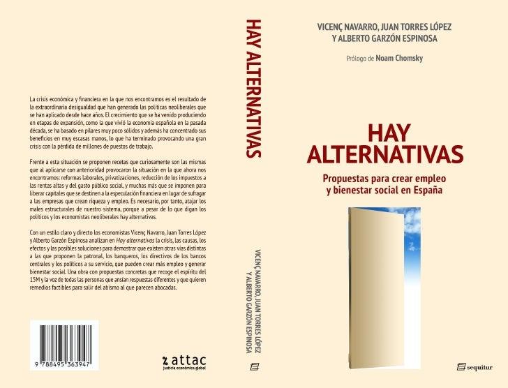 Libro 'Hay alternativas'