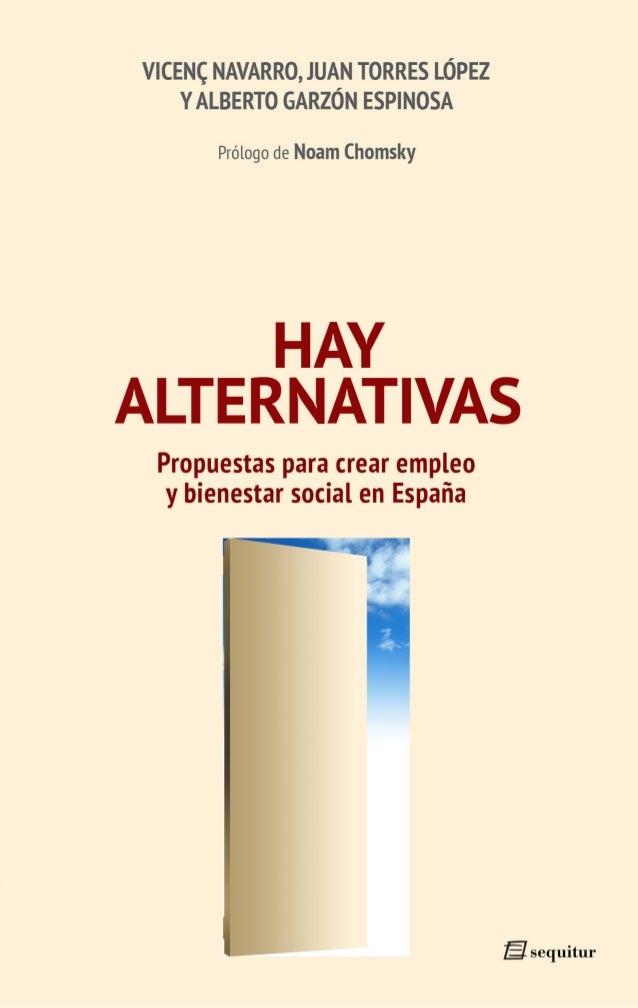 Hay alternativas Alternativas.qxl.qxp 10/10/2011 13:53 PÆgina 1