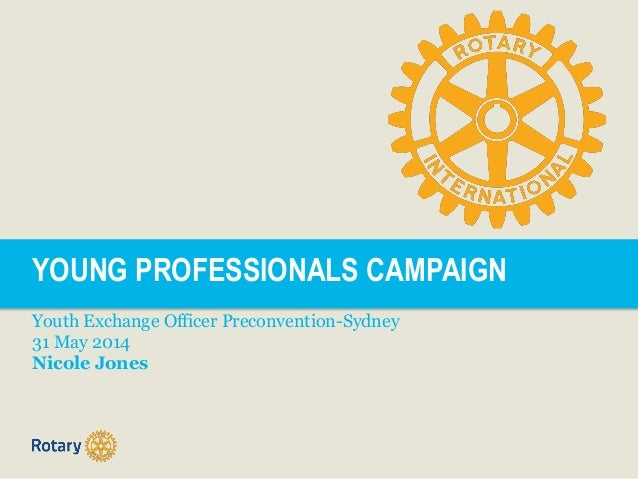 Young Professionals Campaign