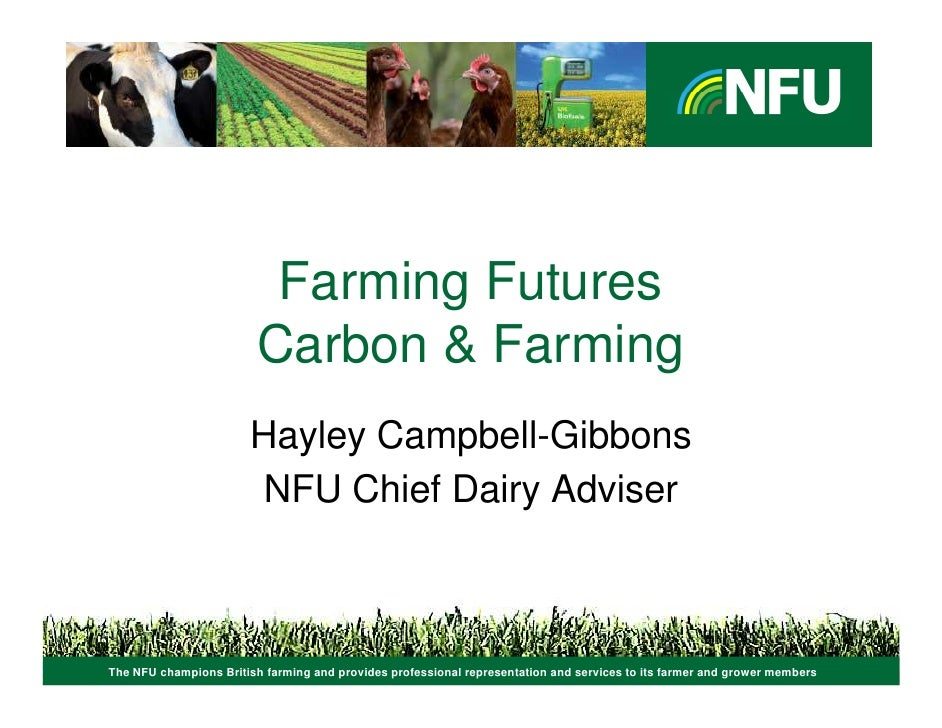 Emissions in context: the Milk Roadmap & Environmental Plan for Dairy farmers - Hayley Campbell-Gibbons (NFU)