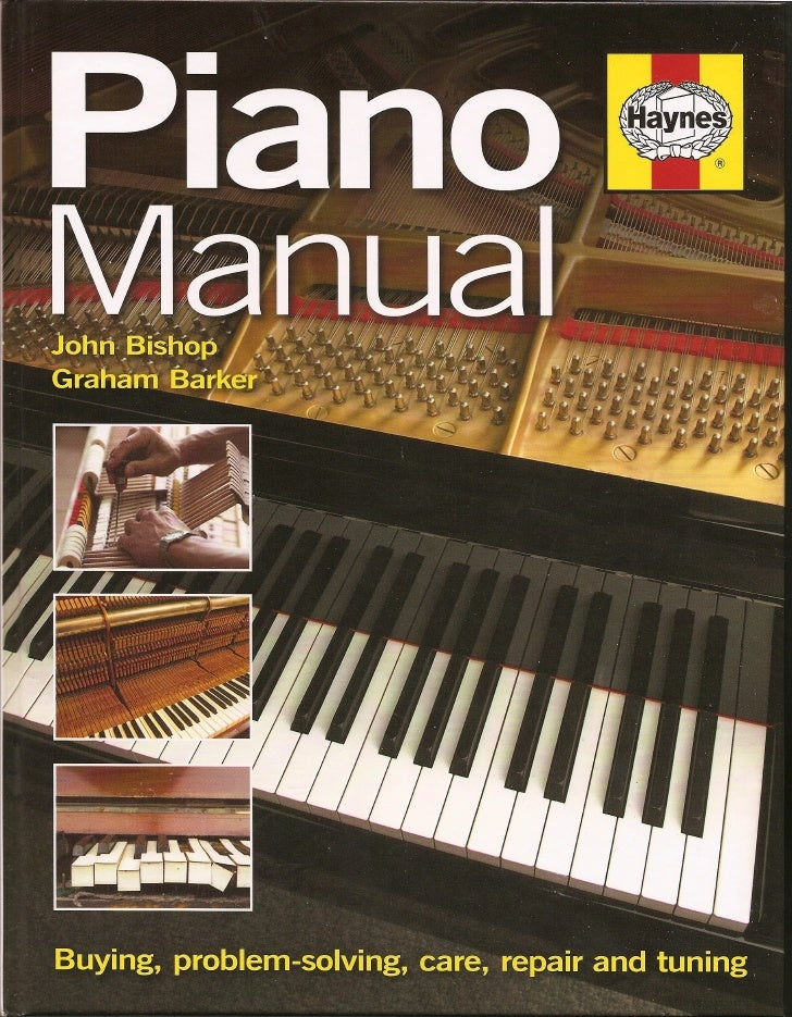Haynes piano manual front