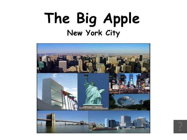 The Big Apple  New York City