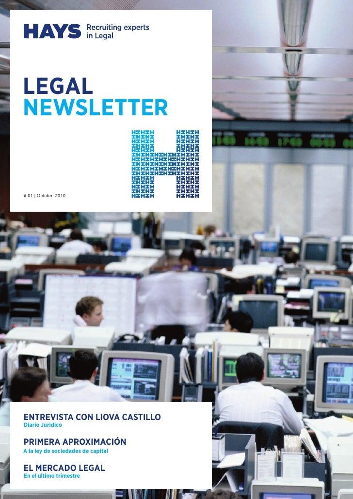 Hays Legal Newsletter #1