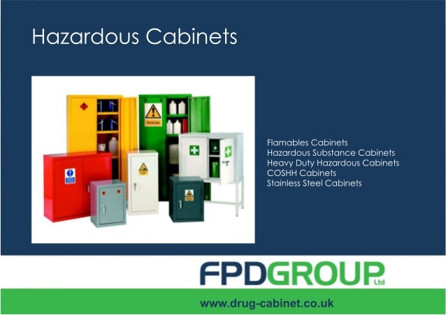 Hazardous Substance Cabinets Brochure