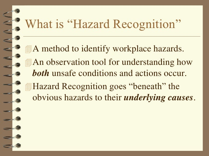 Hazard Recognition Normalization Of Deviance - Lessons - TES Teach