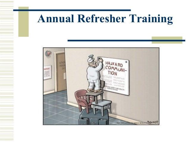 Annual Refresher Training