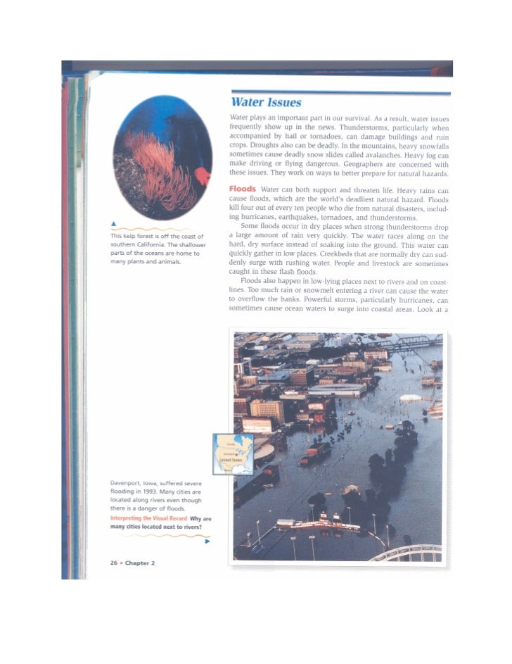 Natural Hazards & Enviro Issues Pages