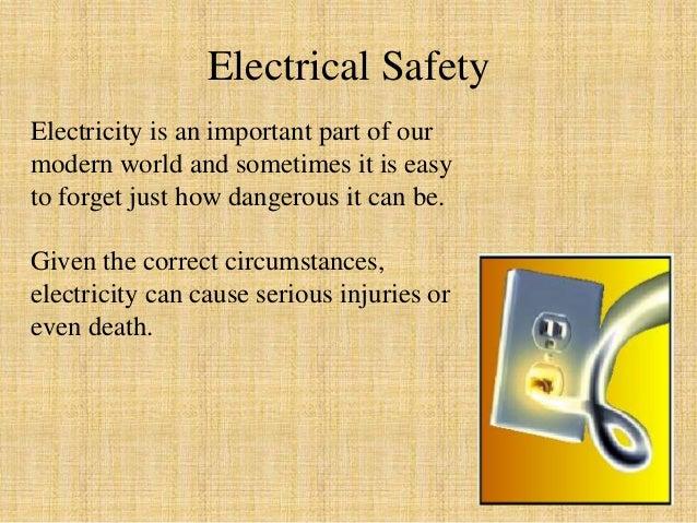 Electricity Workplace Hazard