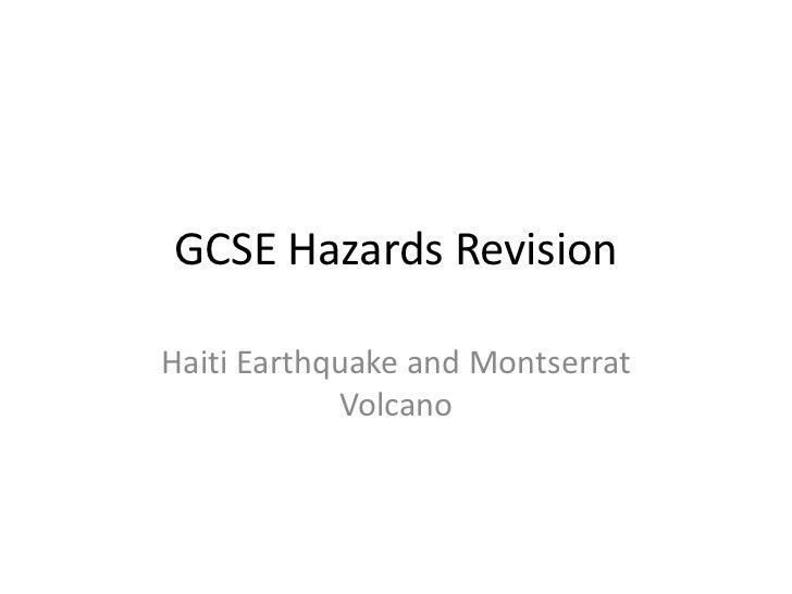 Hazards case studies revision[1]