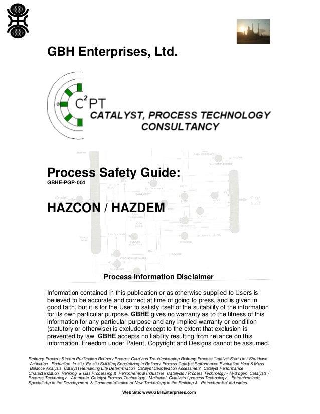 HAZCON / HAZDEM
