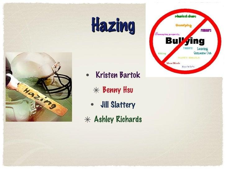 Hazing Powerpoint