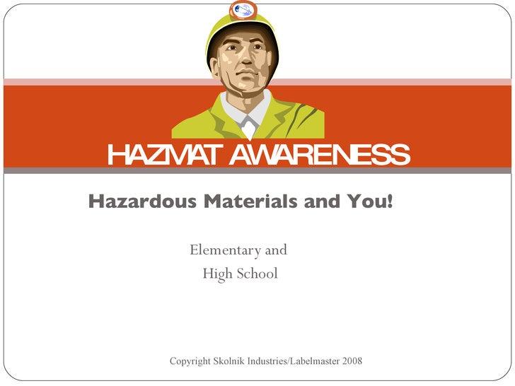 Hazmat Awareness 08