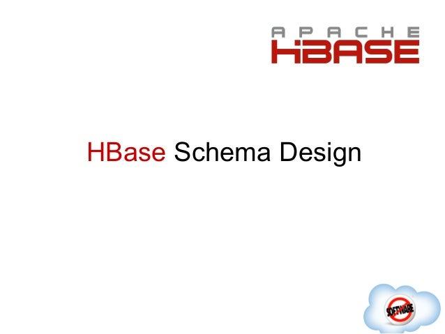 HBase Schema Design