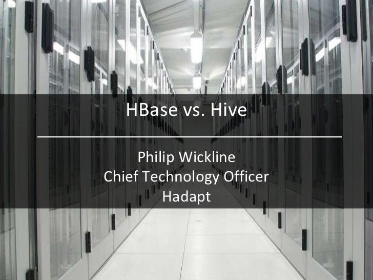 H base vs hive   srp vs analytics 2-14-2012