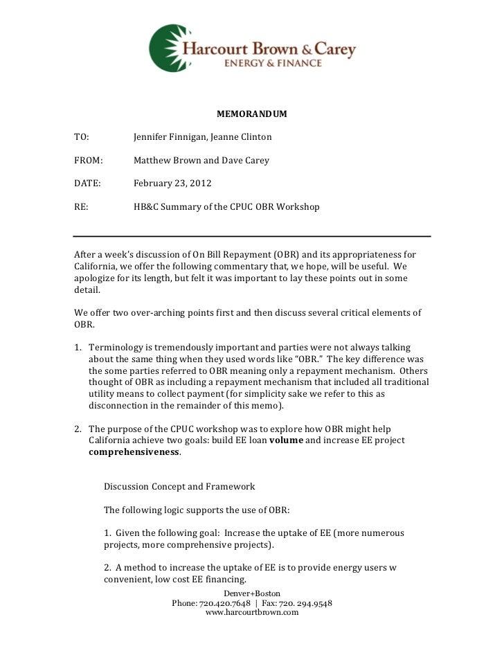 Hb&c workshop summary final