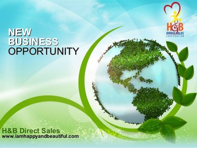 H&b Direct Sales Compensation Plan