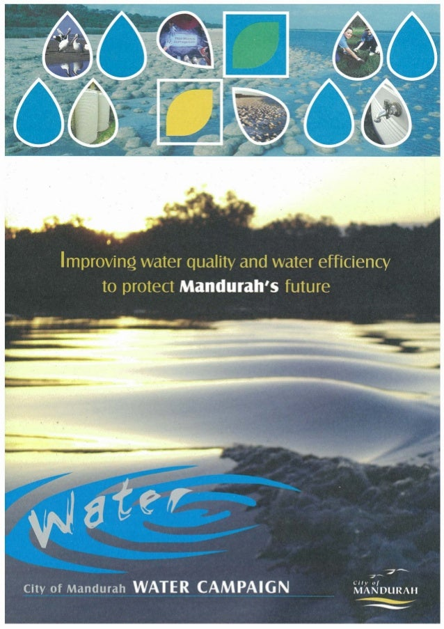 Improving Water Quality and Water Efficiency to Protect Mandurah's Future