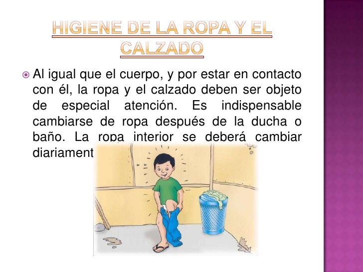 Hábitos de higiene y salud en los niños