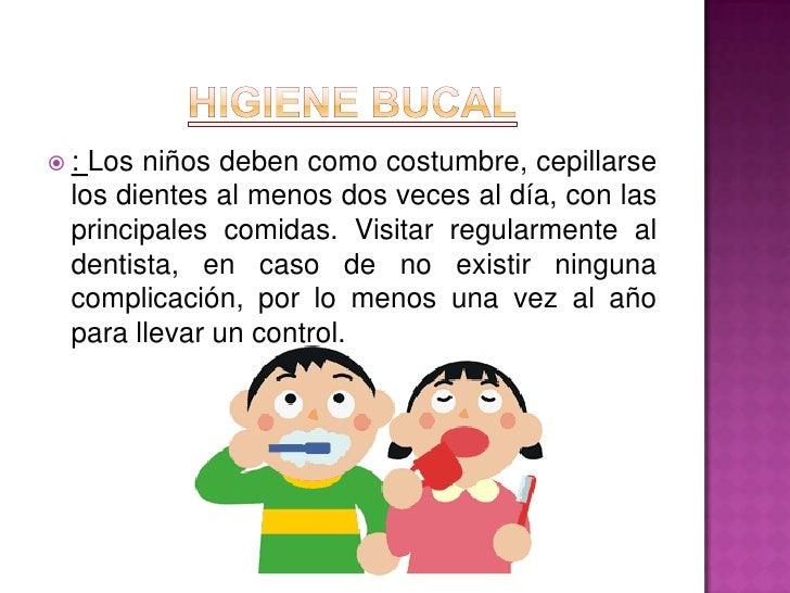 Afiche De Los Habitos De Higiene